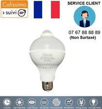 AMPOULE LED 12V 24V E27 9W DETECTEUR DE MOUVEMENT CARAVANE SOLAIRE CAMPING CAR