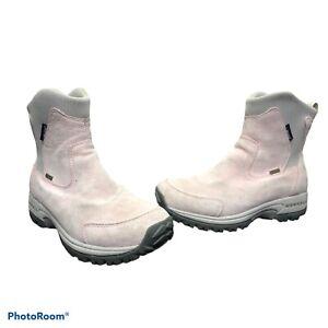 Womens Merrell Tundra Boot Polartec Thinsulate Waterproof Size 7.5 Light Pink
