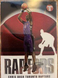 2003-04 Topps Pristine Chris Bosh #110 Rookie Card RC Toronto Raptors