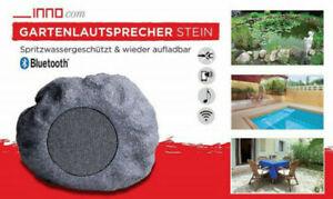 Gartenlautsprecher Bluetooth Wlan Wasserfester Outdoor Lautsprecher Stein Optik