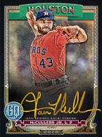 2020 Topps BUNT Lance McCullers Gypsy Queen S2 GOLD Signatur ICONIC DIGITAL CARD