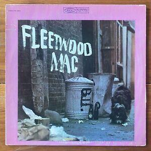 Fleetwood Mac – Self-Titled Debut British Blues-Blues Rock Vinyl LP –Peter Green