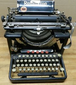 1922 Remington model 12 used typewriter serial # LC20743 not working for parts