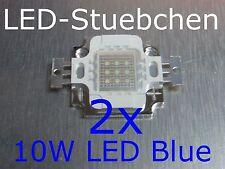 2x 10W High-Power LED Blau
