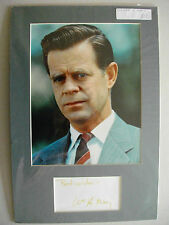 WILLIAM H MACY  AUTOGRAPH MOUNT,   CELLULAR, SEA BISCUIT