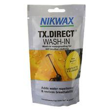 Nikwax TX Direct Wash-In 100 ml Pochette Veste Imperméable Pluie repellency