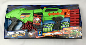 Adventure Force Powerbolt Pump Action Belt Fed ~ Fires Up To 80 Feet ~ Ages 8+