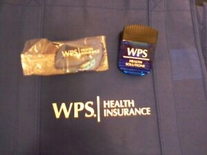 New swag lot: WPS Eco-friendly canvas bag, letter opener & giant clip! Gr8 COND!