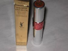 YSL LIP GLOSS VOLUPTE Tint in oil  # 6 peach me love NEW  sz 6 ML IN A BOX