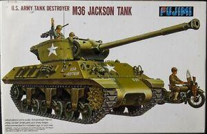 Fujimi 1:76 scale M36 Jackson tank destroyer plastic model kit