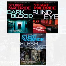 Logan McRae Series 4-6 Stuart MacBride 3 Books Collection With Gift Journal Set