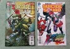 Suicide Squad New 52 13 issue lot variants  2 3 4 5 6 7 2nd 8 9 10 Harley Quinn