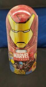 NEW Marvel Universe Mighty Beanz IRON MAN Tin Case