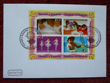 Kosovo Brief 2006 Kinder-Block Ersttag o
