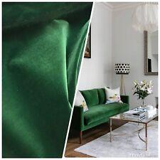 SALE! Designer Heavyweight Upholstery Velvet Fabric - Emerald Green