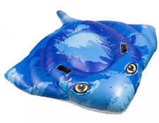 NOVELTY QUALITY FUNKY STINGRAY INFLATABLE SWIM POOL FLOAT RAFT LILO LOUNGER PMS