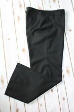 "Ann Taylor Pants 10 Trouser Work Black Wool Cashmere Blend Career 32"" Inseam"