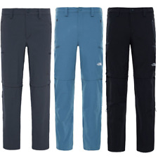 THE NORTH FACE TNF Exploration Convertible Outdoor Hiking Trousers Pants Mens