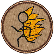 Hot!! Boy Scout Patch - Flaming Stickman Patrol! (#003)