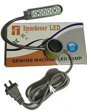 "pfaff LED-20 110V Sewing Machine Lamp light Magnetic 7"" gooseneck Mount + plug"