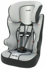 TT Racer First High Back Booster Car Seat Groups 1-2-3 Pop Black