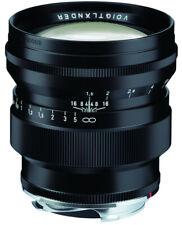 Voigtlander 75mm f1.5 Nokton ASPHERICAL vintage line, black for Leica M mount