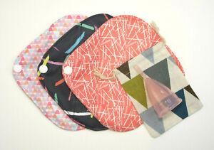 Menstrual Cup Starter Set - Menstrual Cup, 3 Panty Liners & Cotton Bag UK SELLER