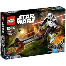 LEGO Star Wars Scout Trooper & Speeder Bike - 75532 - Argos eBay