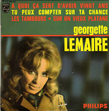 GEORGETTE LEMAIRE LES TAMBOURS FRENCH ORIG EP PAUL PIOT