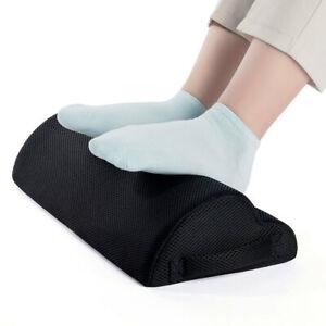 Comfort Office Foot Rest Sponge Curve Design Non-Slip Bottom Foot Pad NEW