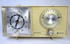 Vtg. General Electric Radio with Alarm Clock Model C1460-B for Parts or Repair