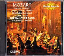 Mozart: Symphony No 40, Colin Lawson -The Hanover Band CD (Roy Goodman)