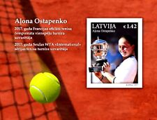 Latvia Lettland  2017.Tennis.Jelena Ostapenko - French Open champion .s/s   MNH