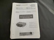 Original Service Manual  Blaupunkt Autoradio Frankfurt Commander