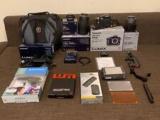 Panasonic LUMIX DMC-GH2 16.0MP Digital Camera - 14 pc Photo and video kit