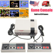 Mini Vintage Retro TV Game Console Classic 620 Built-in Games 2 Controllers USA