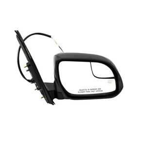 Passengers Power Side View Mirror Heated Spotter Glass for 15-18 Toyota Sienna
