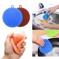 Silikonschwamm Reinigung Magische Bürste Küchenschwamm Silikon Schwam Pinsel Neu