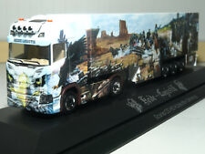 Herpa Scania CS 20 Hochdach Kühlkoffer SZ Heide Logistik The Legend in PC 121842