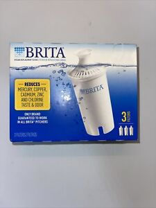 Brita Standard Replacement Water Filters, Works on All Brita Systems -No Streams