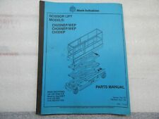 Heavy Equipment Manuals & Books for Scissor Lift for sale | eBay
