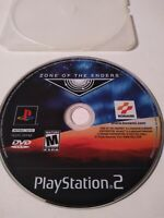 Zone of the Enders Sony PlayStation 2 2001 PS2 Tested Disc Only