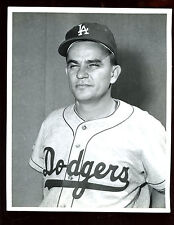 Original 8 X 10 Photo Jackie Collum Los Angeles Dodgers