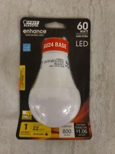 3x FEIT 60-Watt Equiv A19 GU24 Dimmable LED ENERGY STAR 90+ CRI Light Bulb