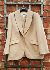 Basler Angora Blend Camel Coloured Jacket (UK 20)