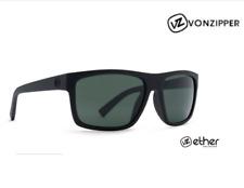 New Von Zipper Speedtuck Sunglasses - Black Satin - Grey - VZ ether Collection