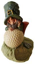 Finnians Guardians Of The Blarney Stone Golf Ball Tee Figurine Irish Leprechaun