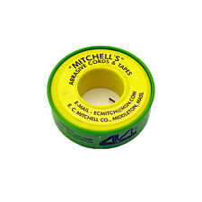 """Mitchell's Abrasive Emery Cords No. 53, 180 Grit, 0.040"""" X 50 Ft."""