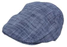 Cool4 Sommer Jeans 6-Panel Flatcap Schiebermütze im Stonewashed Vintage Look E30