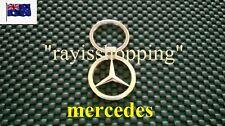 Mercedes Benz AMG Mercedes-Benz Key Ring Keyring Keychain Chain Silver Chrome